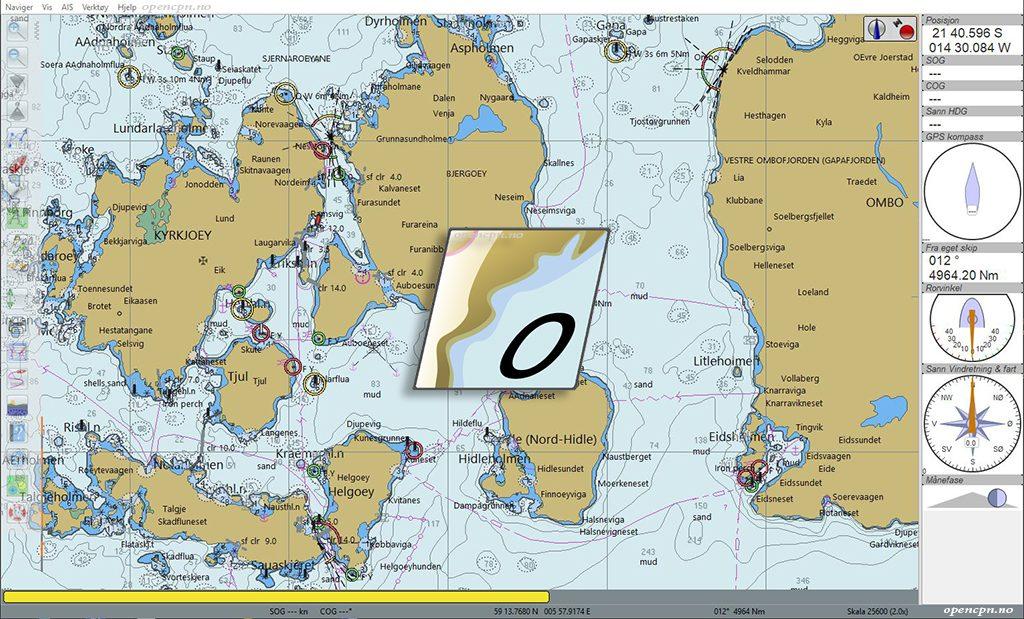 OpenCPN Norge – En opensource maritim kartplotter
